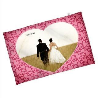 valentines photo blanket